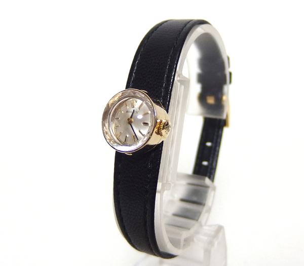 千成★OH済 アンティーク ロレックス カメレオン 14KYG金腕時計