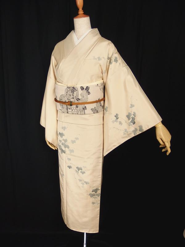 秋、一番の着こなし!大島紬の訪問着を洒落帯とコーディネートする