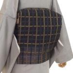紬を引き立てる究極の洒落帯 織匠 田歌(とうた)さんの吉野格子