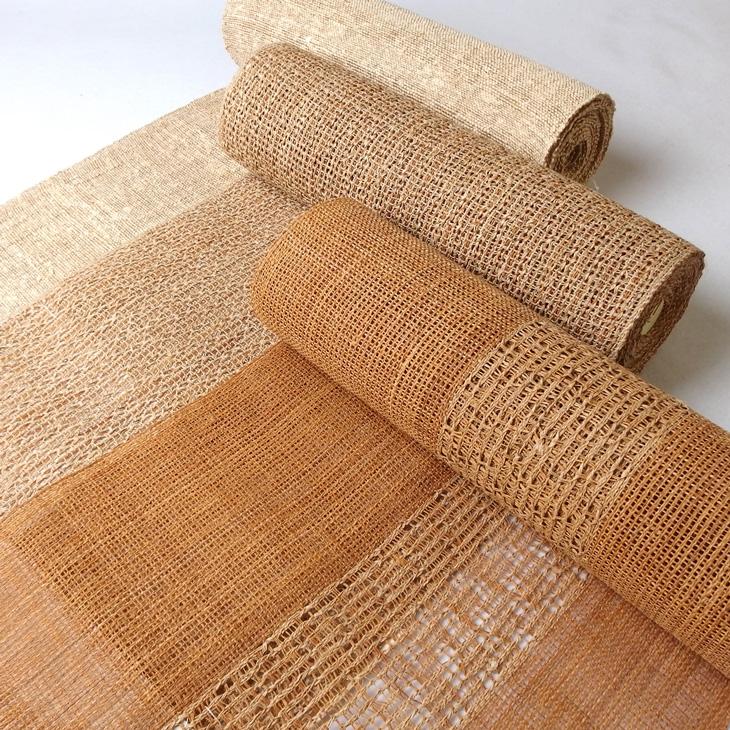 出羽の織座 しな布、捩り織、からむし織の帯