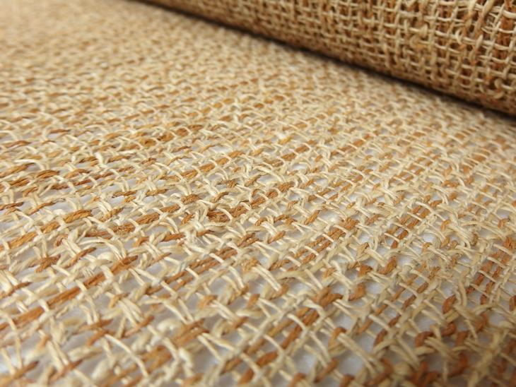 出羽の織座® 草布 ×変わり捩り織り(もじりおり)アップ