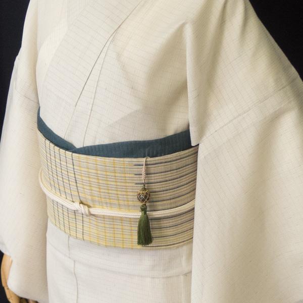 Sakuraco 濱守櫻子 作 帯飾り ラブラドライトのコーディネート