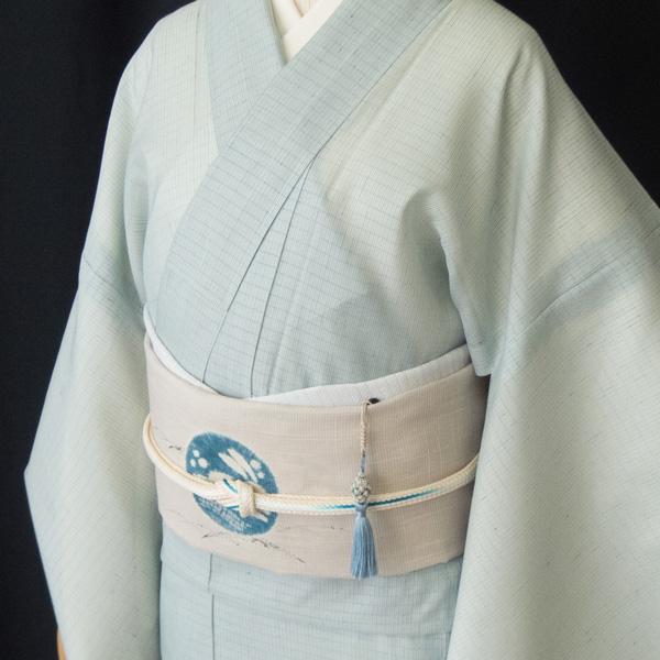 Sakuraco 濱守櫻子 作 帯飾り アフリカンターコイズのコーディネート