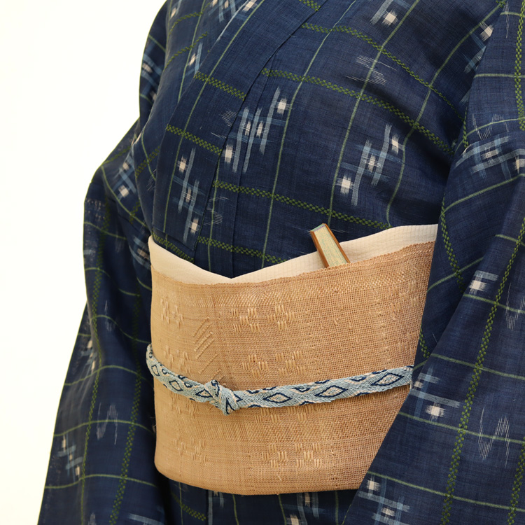 八重山上布と芭蕉布のコーディネート