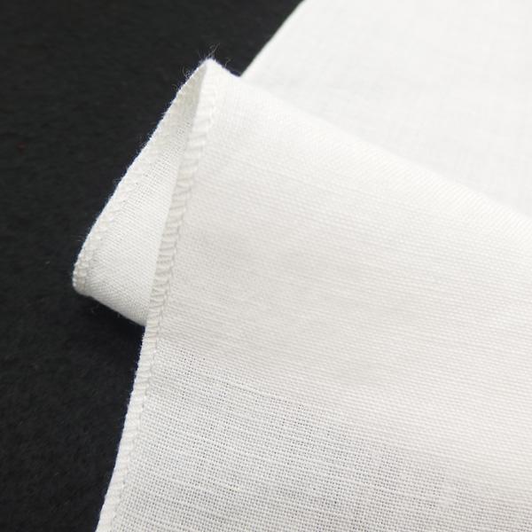 紐の渡敬 本麻の半衿 白