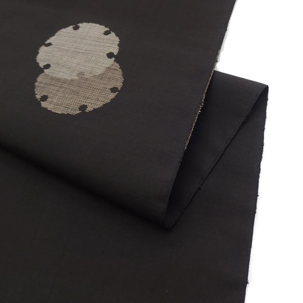 初心者にもお勧めの黒系、本場大島紬の着尺