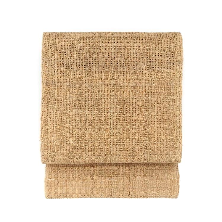 出羽の織座 戸屋優 「草布帯 変り捩り織」のお太鼓