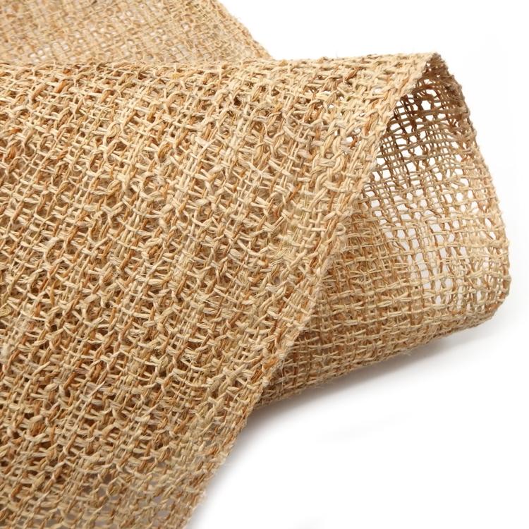 出羽の織座 戸屋優 「草布帯 変り捩り織」の糸アップ