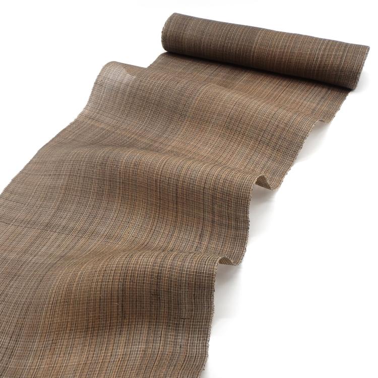 喜如嘉の芭蕉布と八重山上布の帯のコーディネート