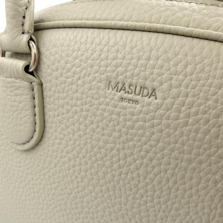 MASUDA(増田一也)さんのバッグ、レザーの風合い